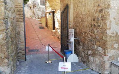 Mejoras acceso Castillo